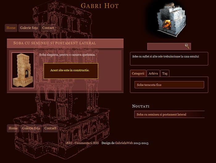 Site-ul Gabri Hot