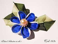 Pitica Albastru cu alb 1